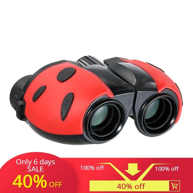 BIJIA 8x22 Mini Binoculars jumelles telescope high scope zoom binocular tools for hunting camping night vision eyepiece binoculo