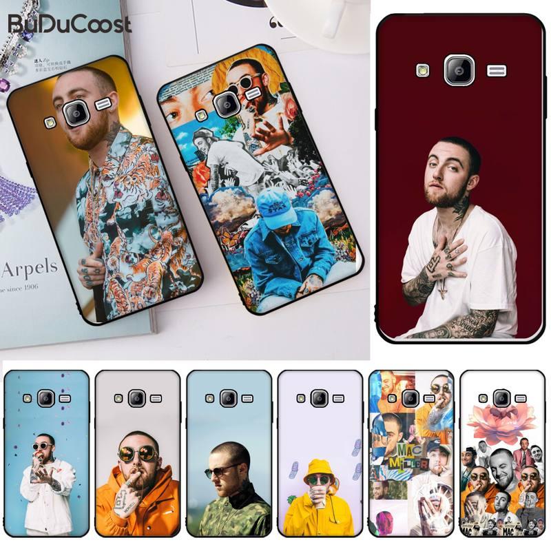 Jomy rapper mac miller caso do telefone capa para samsung j2 4 5 6 7 8 prime pro plus duo neo j415 2016 8 9 j600 737 730
