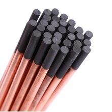 1Pc rond ARC Air gougeage carbone tige barre 6-12mm soudage DC gaz gougeage électrode Graphite tiges fournitures de soudage