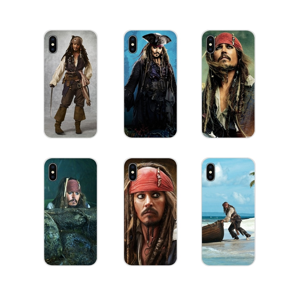 Mobile Phone Shell Cover Pirates of the Caribbean Johnny Depp For Samsung Galaxy A3 A5 A7 A9 A8 Star A6 Plus 2018 2015 2016 2017