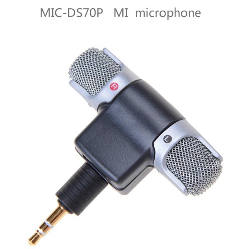 Micrófonos portátil Audio Video Mic-ds70p grabadora portátil micrófono móvil electrónica de consumo