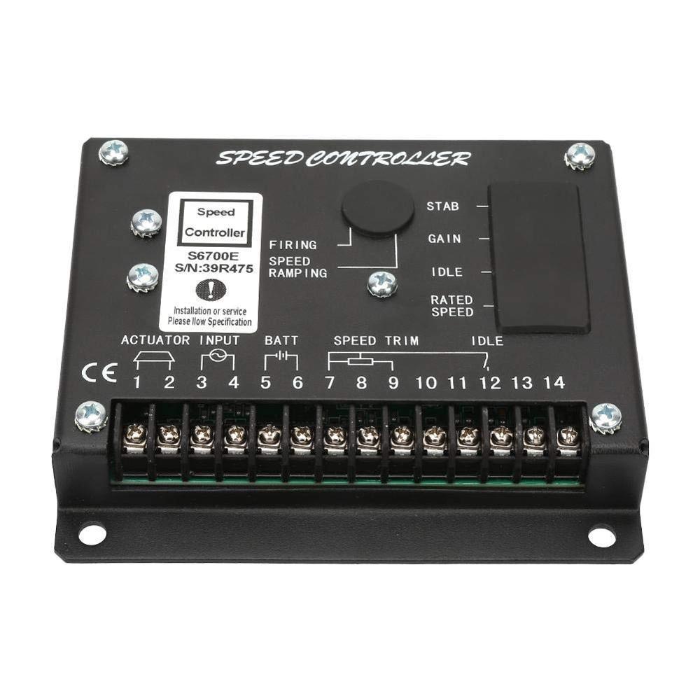 S6700E وحدة تحكم في سرعة المحرك, منظم السرعة