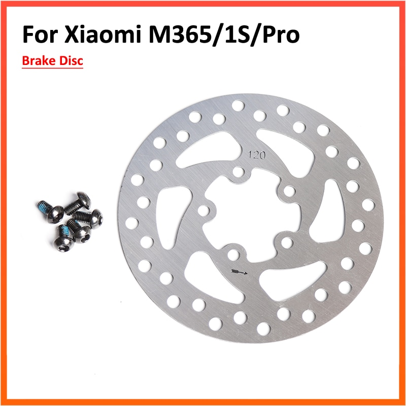 110MM 120MM Brake Disc Rotor Pad Replacement Parts For Xiaomi Mijia M365 M365 Pro Electric Scooter