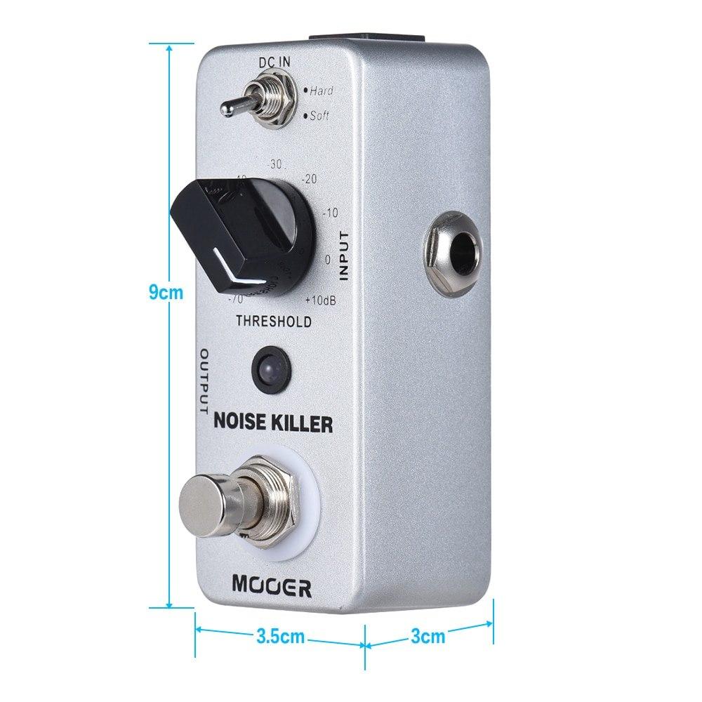 Mooer Noise Reduction Effect Pedal Guitar Pedal Guitar Effect Pedal Processsor True Bypass for Electric Guitar Accessories Mnr1 enlarge