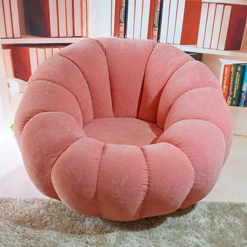 Sofá perezoso, Tatami, balcón individual, silla de ocio, sofá silla, dormitorio encantador para niñas