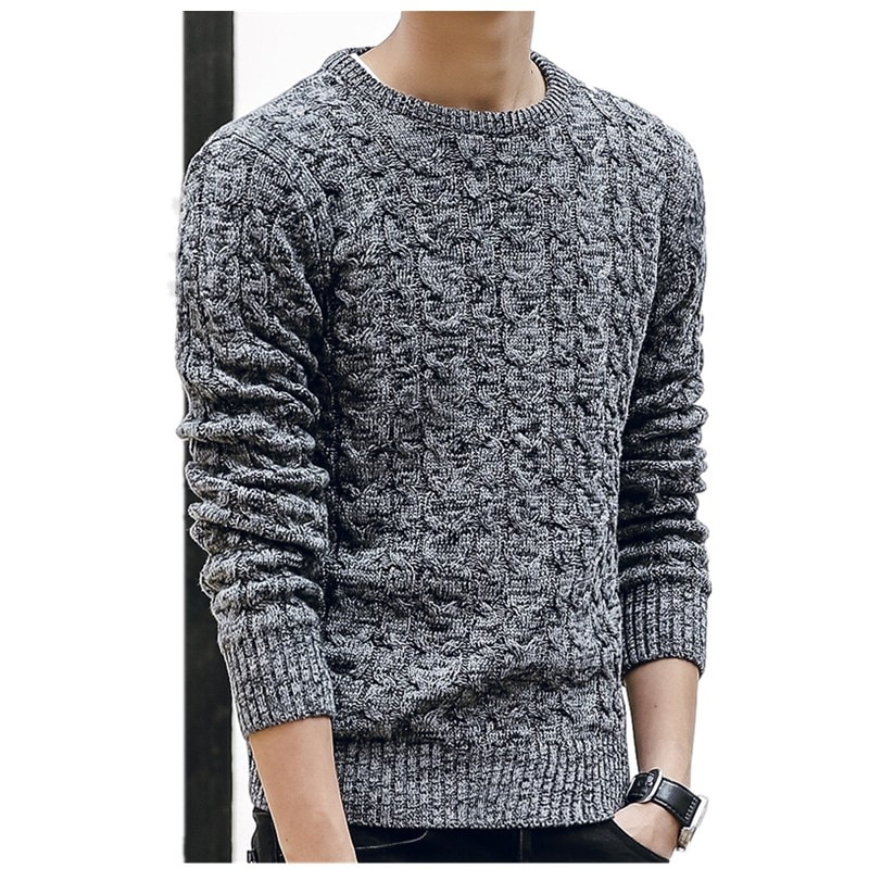 New Mens Sweaters 2020 New Fahsion O Neck Winter Sweater Men Pullover Long Sleeve Casual Men Jumper Sweater Fashion Clothes mens sweaters new classic simplicity pullover o neck sweater men long sleeves grey black teenagers sweaters