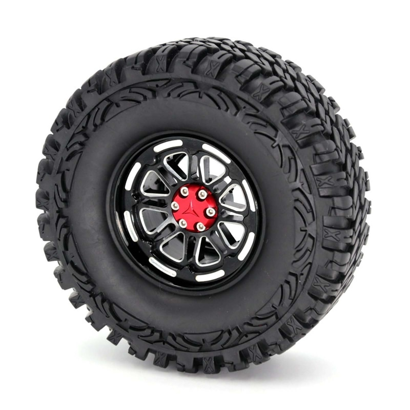 1.9inch Rocks Tyres Rubber Wheel Tire for 1:10 RC Rock Crawler Car SCX10 90046 enlarge