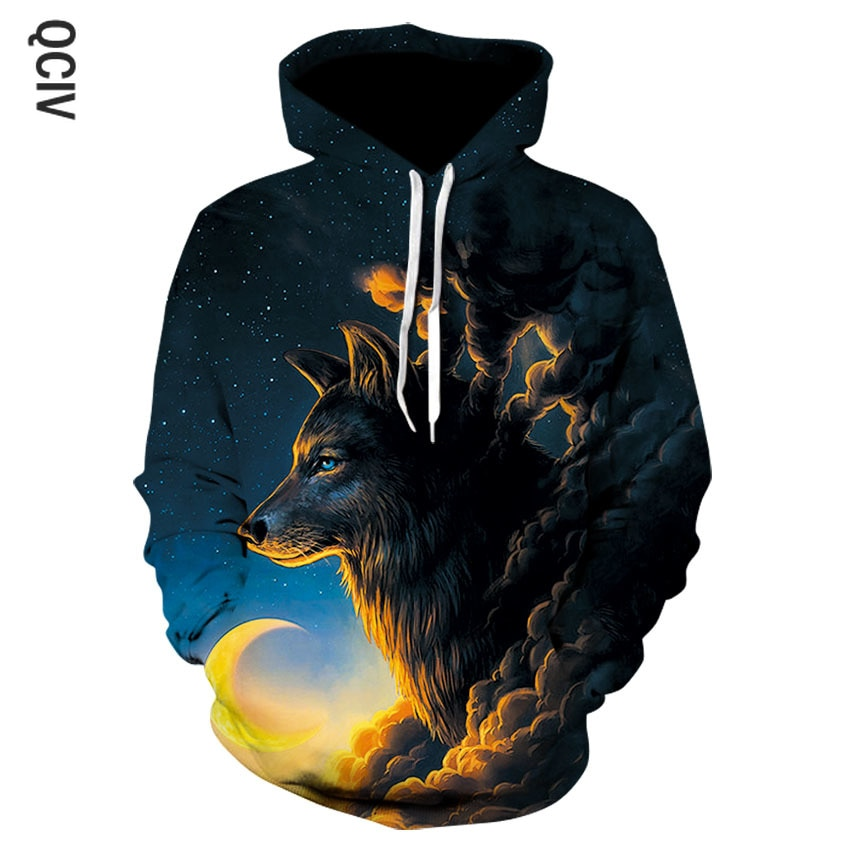 3D printed hoodies Men Sweatshirt Novelty Casual Hoodies Quality Drop ship Brand Pullover