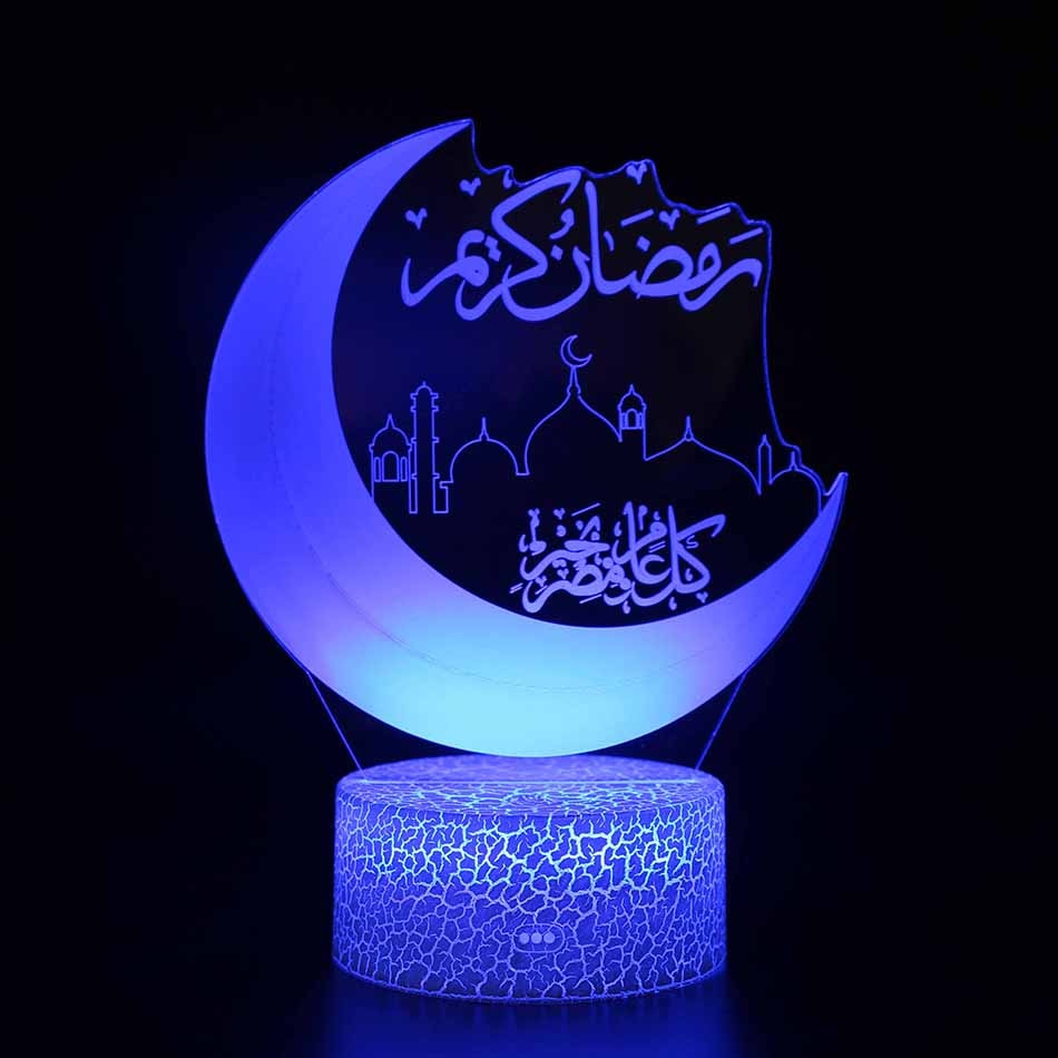 3d lamp fortnite game chug jug scar rocket launcher gliding led night light 7 color change touch mood lamp Moon Lamp 7 Color Change 3D Light Touch Switch 3D Print Lamp Moon Bedroom Bookcase Night Light Creative Good Night Gifts