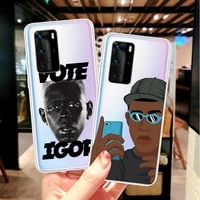 golf wang tyler creator soft silicone cover case for huawei p8 p9 p10 p20 pro p30 p30 lite p40 lite p40 pro tpu phone cases