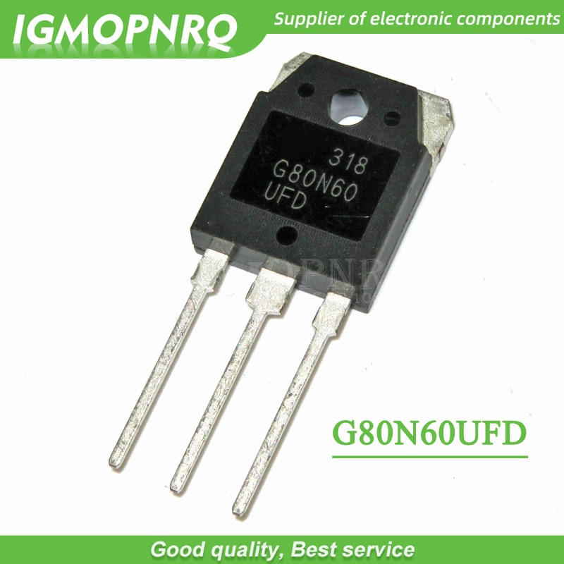 5 шт., G80N60 G80N60UFD SGH80N60UFD 80A 600 в TO-3P, IGBT