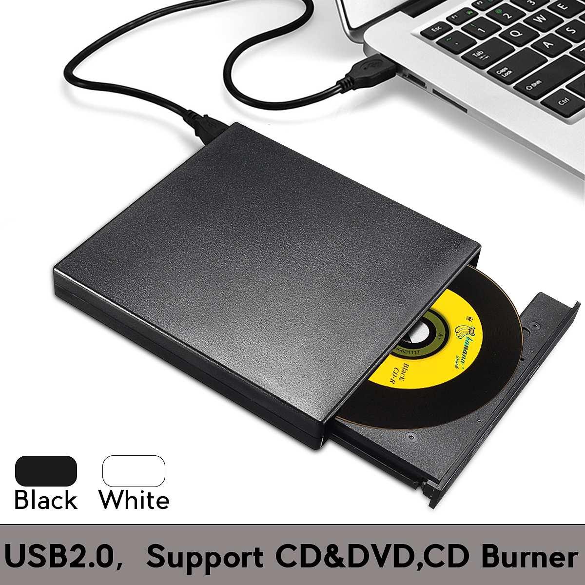 Óptica para Computador Componentes do Computador Externo Combinado – cd Burner rw Drive Dvd-rom Cd-rw Player Unidade Portátil Usb 2.0 Dvd
