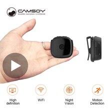 Camsoy C9 Full HD 1080p vücut Wi-Fi gece görüş küçük gizli mikro Video Mini kamera Wifi IP kamera bisiklet Microcamera minicamera DV