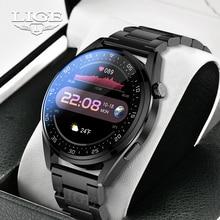 LIGE New Fashion Smartwatch Women Bluetooth Call Sport Men's Smart Watches Heart Rate Monitoring Wat