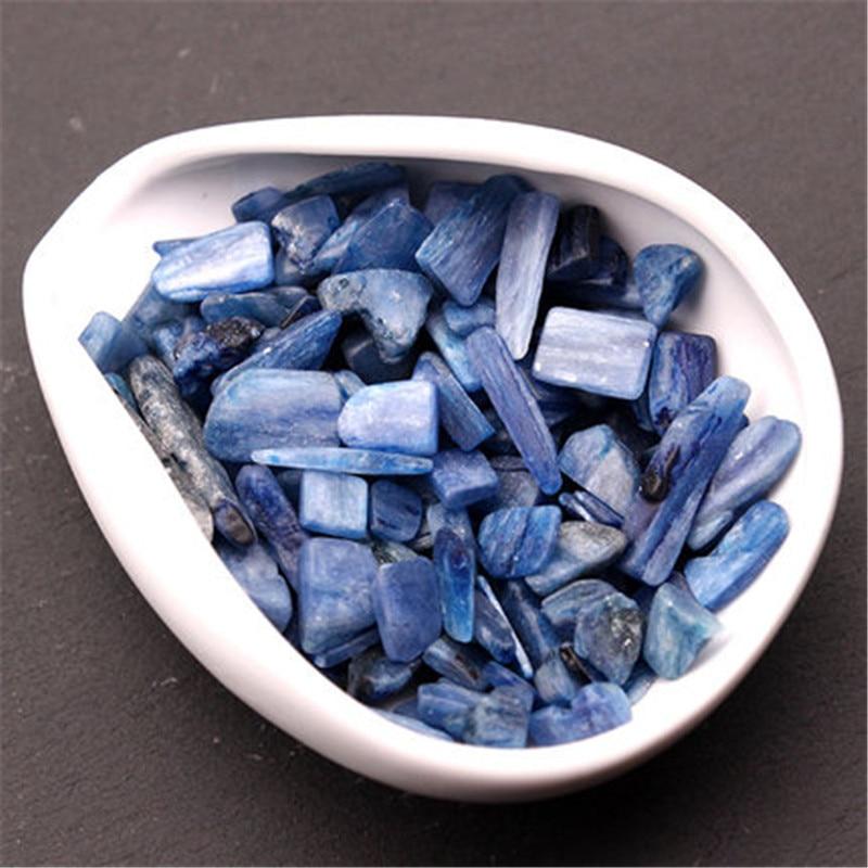 Cianita Natural azul de piedras preciosas en bruto de energía Original de piedra de cristal de cuarzo curación Fengshui Mineral espécimen tanque de peces Decoración