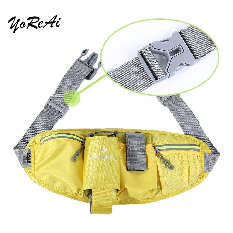 Saco da cintura cinto saco da cintura de corrida saco da cintura esportes sacos de ginásio portátil segurar água ciclismo bolsa do telefone respirável feminino cinto bolsos