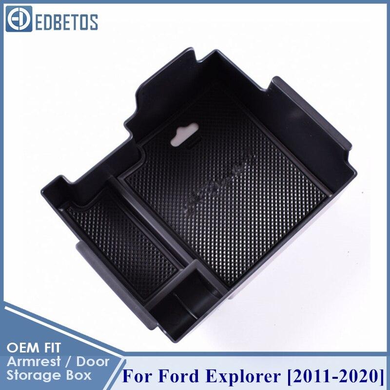 Аксессуары для Ford Explorer 2011 2012 2013 2014 2015 2016 2017 2018 2019 2020 центр Conosle Органайзер лоток для Ford Explorer