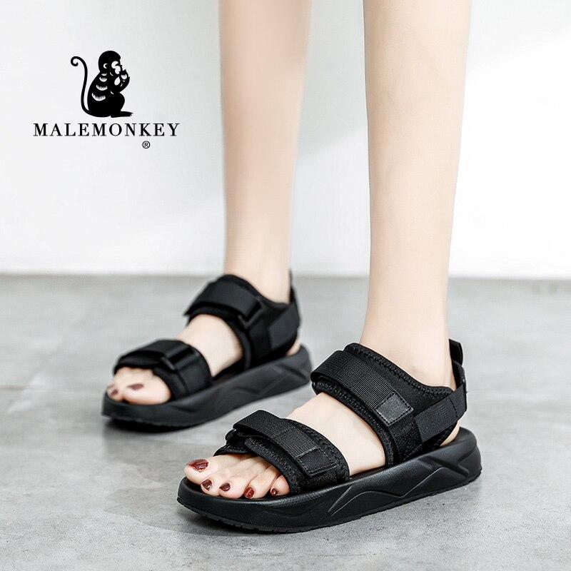 Platform Sandals Women Summer Fashion Beach Sport Flats 2021 Outdoor Lightweight Open Toe Comfortable Non Slip Female Shoes New