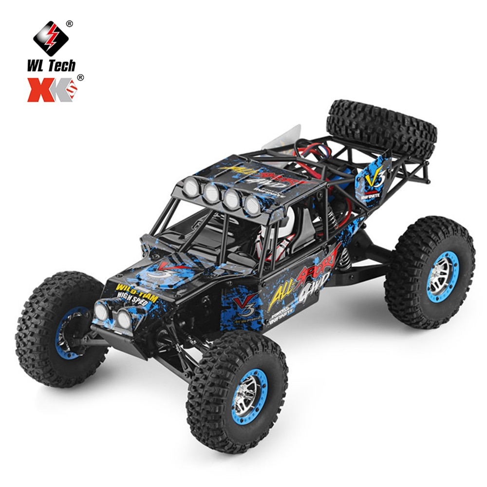 Wltoys 10428-2 1/10 RC Car 4x4 Drive 40km/h High Speed RC SUV Rock Crawler Electric Off Road Buggy Racing RC Truck Vehicle