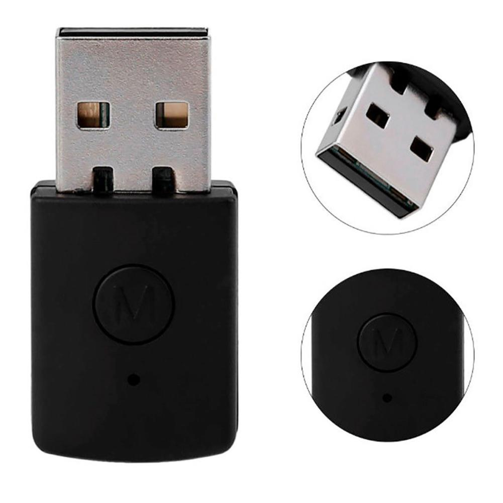 Bluetooth 4.0 Dongle 3.5mm Headphone USB 2.0 Adapter Receiver for PS4 Controller Bluetooth 4.0 Transmitter Receiver