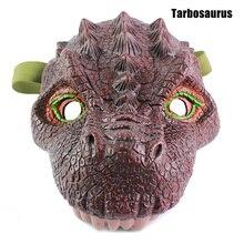 Offre spéciale dinosaure tête masque modèle Halloween Eve Cosplay Costume partie drôle jeu