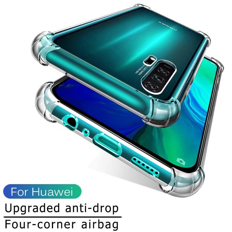 Airbag para Huawei honor 20 pro 10 lite luz p smart 2019 honor 20 10 lite 20pro 2019 suave TPU funda Fundas conchas