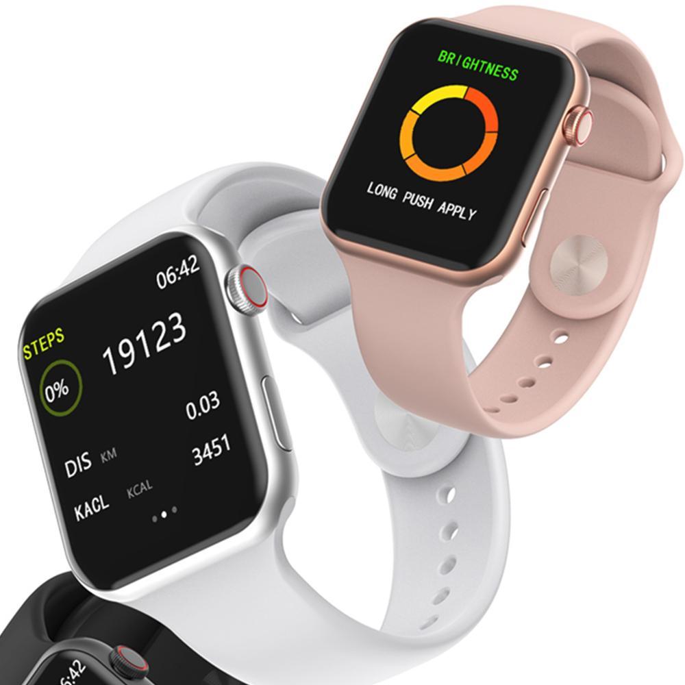 W34 Men Women Smart Watch F10 Fitness Tracker ECG Bracelet SmartWatch Heart Rate Monitor Smart Bracelet Sports Wear Women PK B57