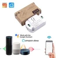 Module de commutation intelligent Wifi  avec minuterie  sans fil  application Tuya  Alexa  Google Home Assistant  IFTTT  controle de maison intelligente  10A