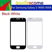 """10pcs dużo i9000 ekran dotykowy do Samsung Galaxy S i9000 i9008 LCD przednia zewnętrzna szkło soczewka ekranu dotykowego wymiana 4.0"""""""