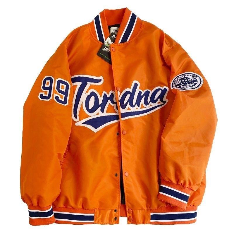 Женская бейсбольная куртка-бомбер, однобортная Повседневная куртка-бомбер в полоску, осень 2021