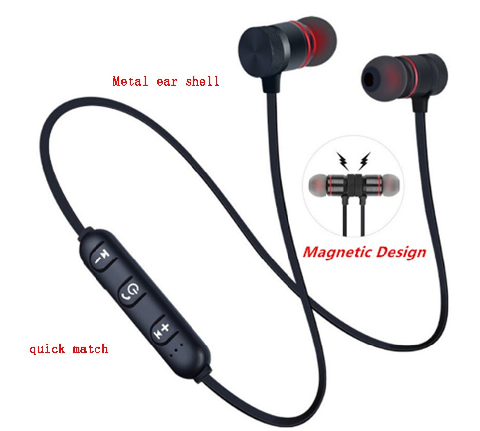 Auriculares Bluetooth 5,0 con cinta de cuello de auriculares inalámbricos magnéticos de...
