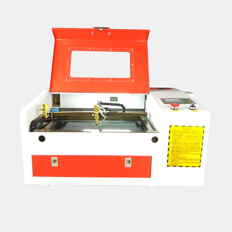 4030 laser graveur machine coupe cnc routeur 50W bureau ruida système acrylique contreplaqué verre cnc routeur