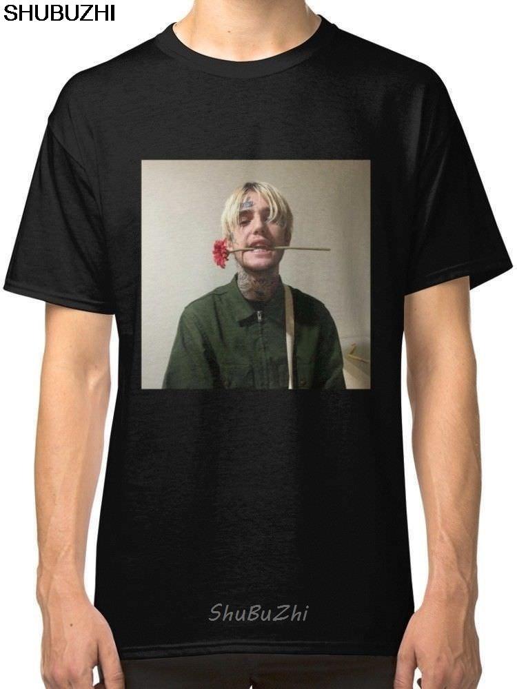 ¡Novedad! Camisetas raras Lil Peep para hombre, camiseta Cool Casual pride, camiseta Unisex para hombre, nueva camiseta de moda, camiseta de tamaño grande, shubuzhi, sbz3144 divertido