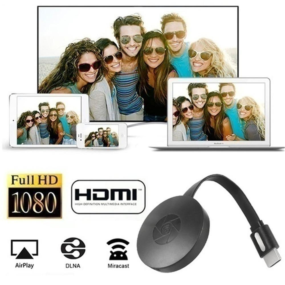 HDMI-compatible TV Stick Dongle 1080P Wifi Miracast AirPlay Adapter for Youtube Chromecast TV Turner TV Stick Android Mirror Box