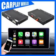 Voiture sans fil noire dandroid de multimédia de voiture de Carplay pour AUDI Q3 2014 sans unité principale Audio originale dairplay de navigateur