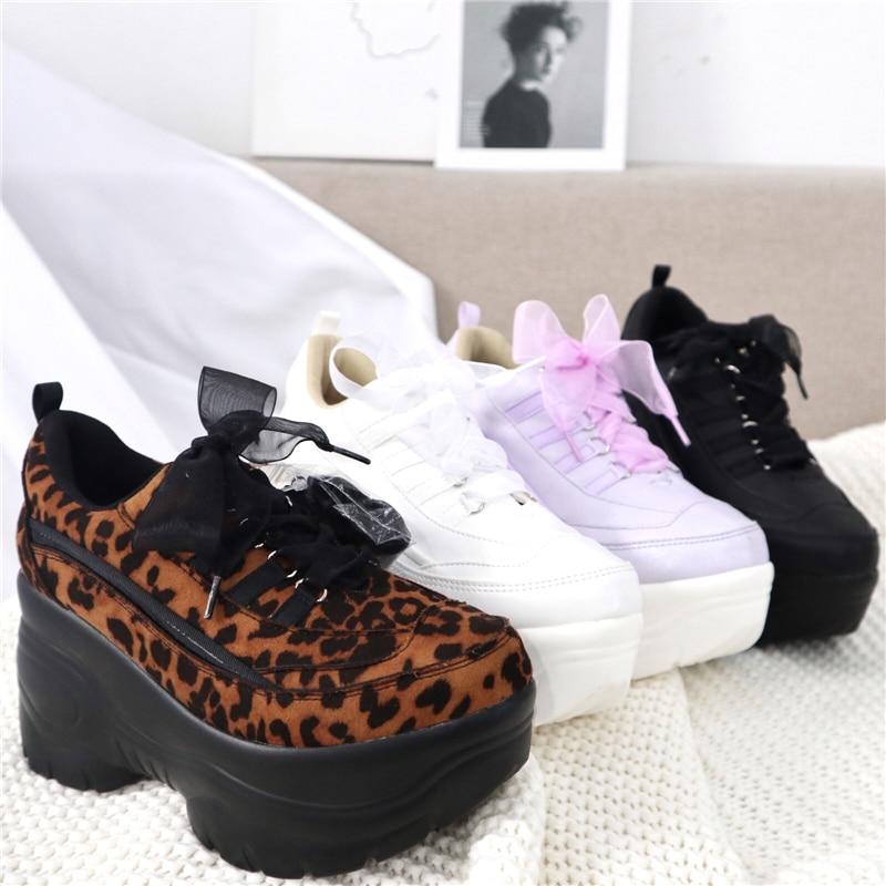 حذاء لوليتا ياباني عتيق بكعب عالٍ 8 سنتيمتر للنساء ، أحذية رياضية غير رسمية ، رأس دائري ، مريح ، kawaii girl cos