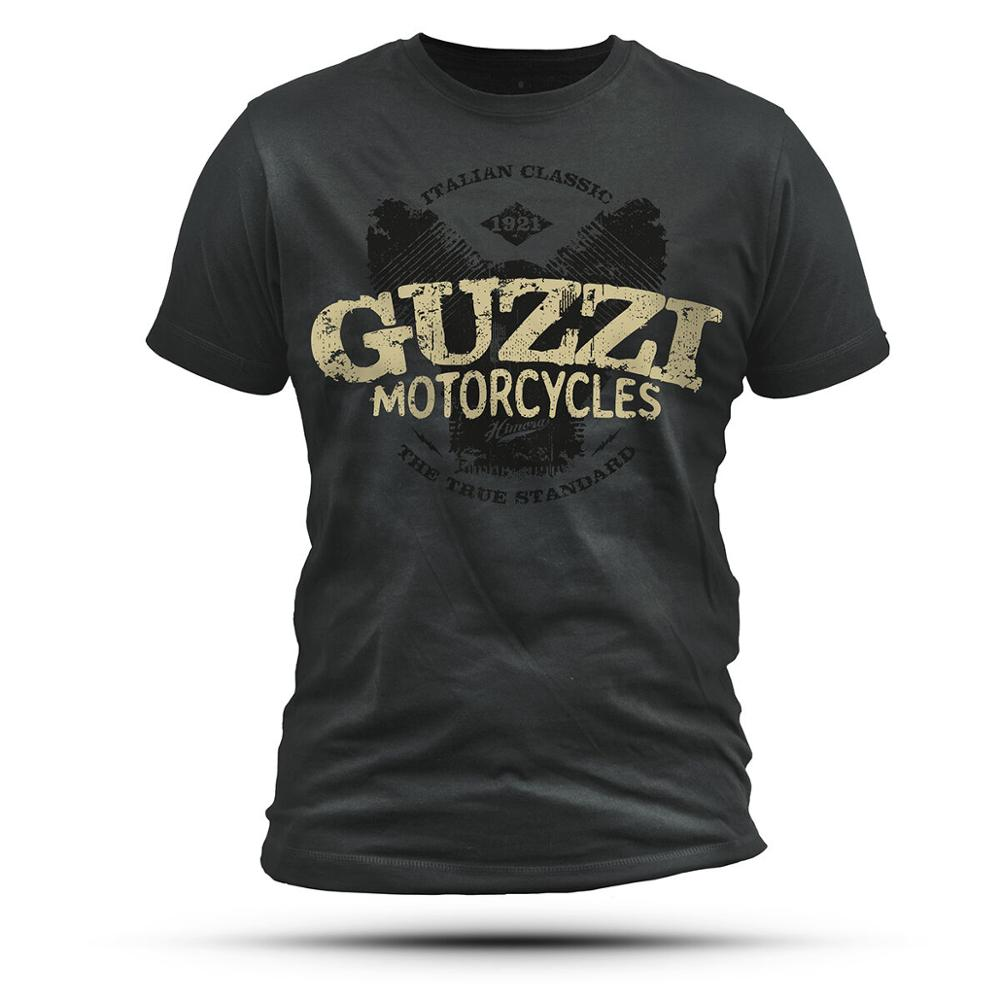 Conjunto I // 2 Guzzi T-Shirt Italiano Motorrad Moto Guzzi Califórnia V9 V11 V7 Himora Unisex Tees