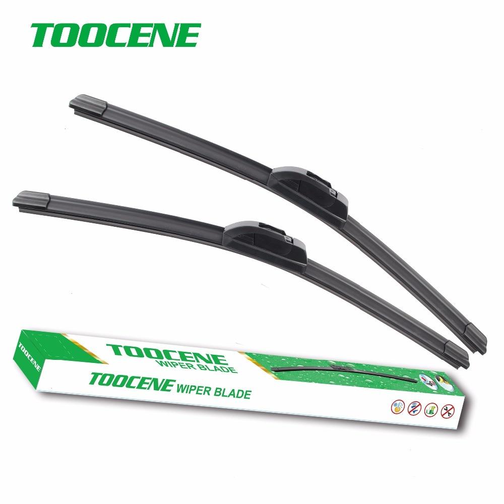 "Toocene windshield Wiper blades for Honda Accord 2013 2014 2015 2016 pair 26""+19"" Car front window windscreen auto Accessories"
