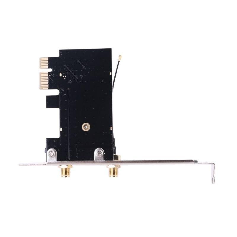 2021 nueva tarjeta inalámbrica a pciE-1X a NGFF-Ekey PCIE Pc portátil tarjeta...