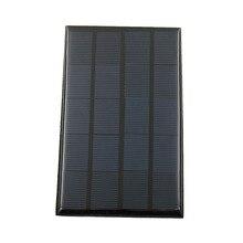 Chargeur de panneau solaire 5V 2W   Mini batterie solaire de téléphone Portable bricolage, cellule solaire en silicium polycristallin époxy