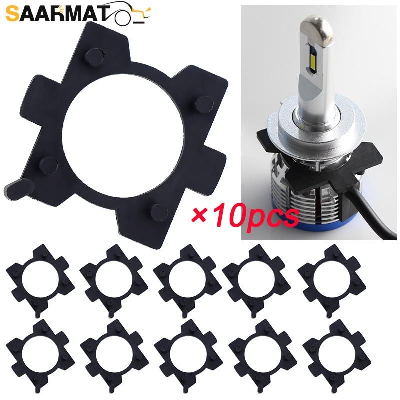 SAARMAT 10 unids/lote H7 Led Adaptador de Adaptador para Mazda CX5 CX7...