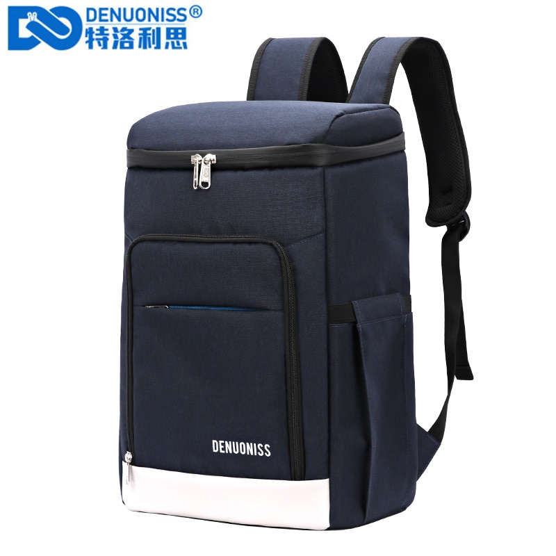 AliExpress - DENUONISS Suitable Picnic Cooler Backpack Thicken Waterproof Large Thermo Bag Refrigerator Fresh Keeping Thermal Insulated Bag