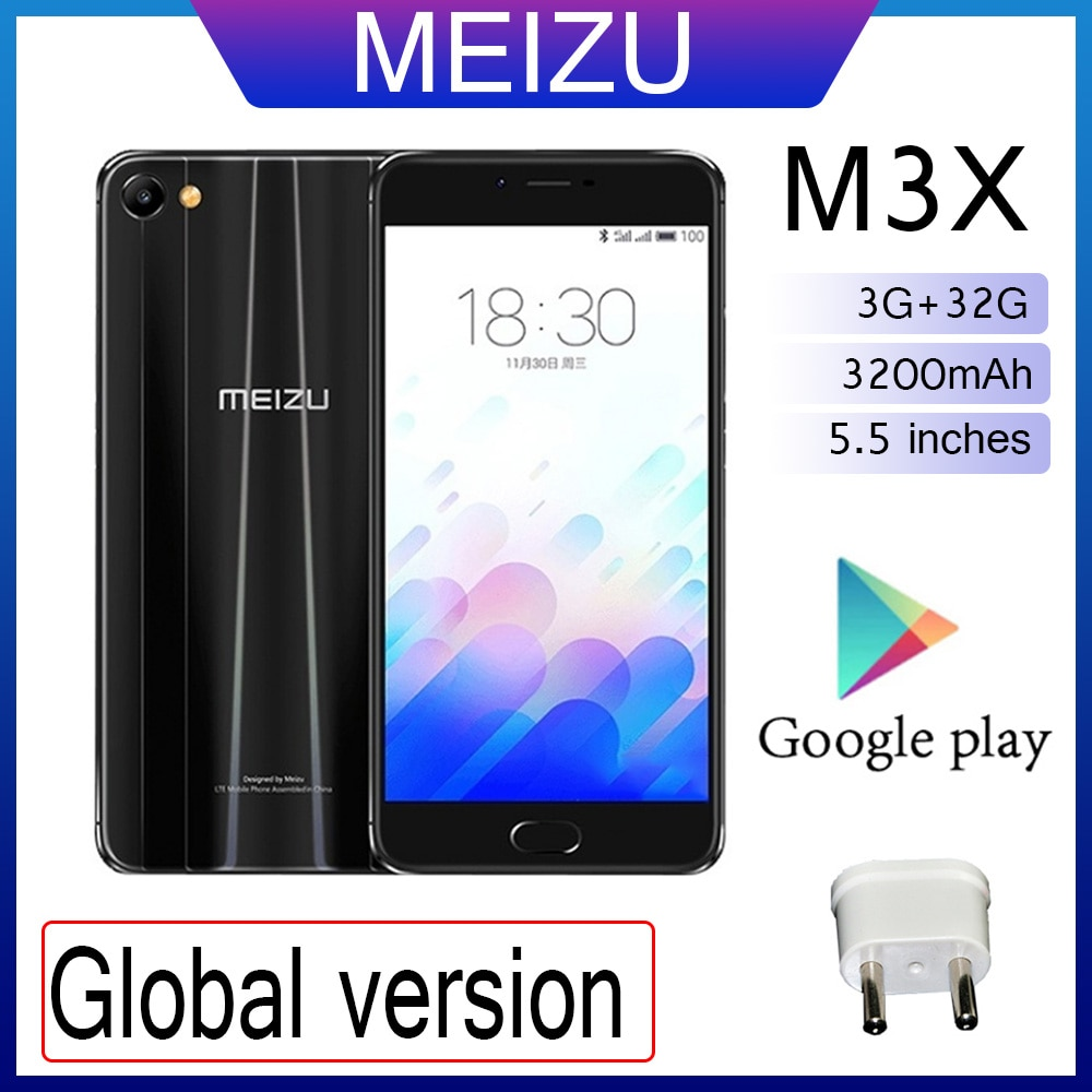 98%New Meizu M6S 3GB 32GB 5.7 inch screen Global version dual camera android phone cellphone