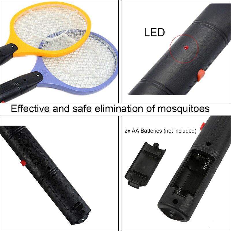 Draadloze batterij aangedreven elektrische vliegenmuggenmepper bug - Tuinbenodigdheden - Foto 4