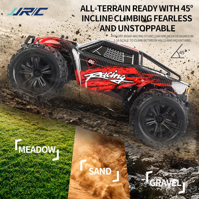 2021 New Q122 1:16 RC Car 36km/h 2.4G Remote Control High Speed 4WD Race Rc Car Truck Off Road Drift Rc Cars Toys For Adult Kids enlarge