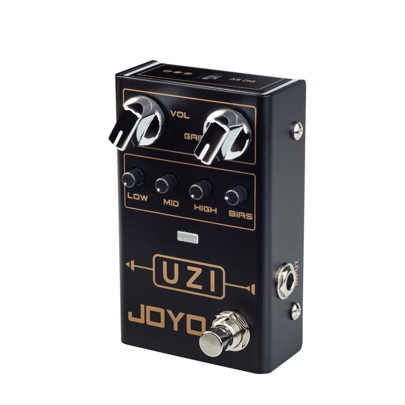 JOYO R-03 UZI Distortion Pedal Electric Guitar Pedals Effect for Heavy Metal Music True Bypass  Sound Mixer Effector enlarge