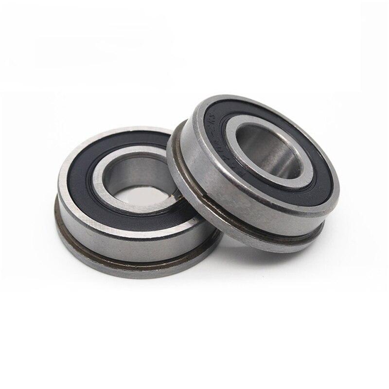 F6200 F6201 F6202 F6203 F6204 F6205 F6206 solo FlangeType rodamiento rígido de bolas 2RS ZZ caucho de sellado rodamiento en miniatura