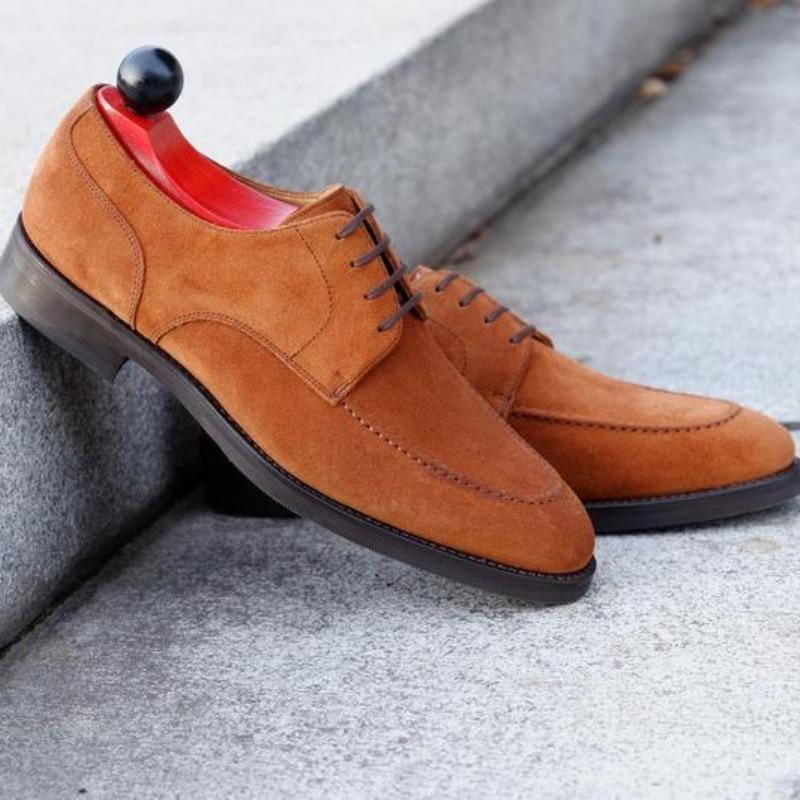 جديد الرجال موضة الاتجاه مأدبة فستان أحذية الأعمال اليومية كل مباراة مريحة البني الجلد المدبوغ الدانتيل متابعة أكسفورد أحذية 6KF516