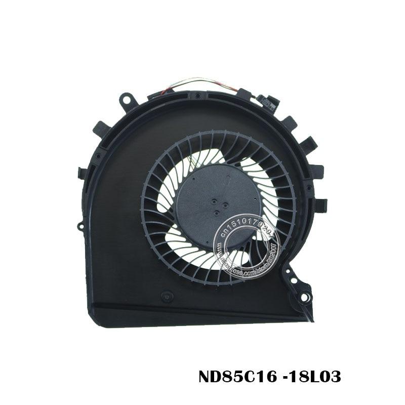 Laptop Cooling Fan ND85C16 -18L03 DC5V 0.50A 4PIN L56900-001