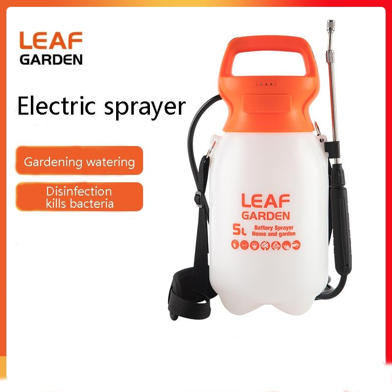 الكلمة التمهيد 5L 8L بطارية ليثيوم المنزلية الصغيرة الكهربائية سقي وعاء البستنة واحدة الكتف سقي رذاذ كهربائي